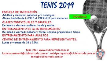 Novedades Tenis 2019