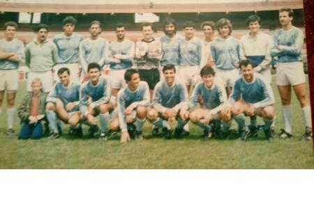 Año 1989 - Visitantes vs  River Plate - Preliminar River - Chaco Forever