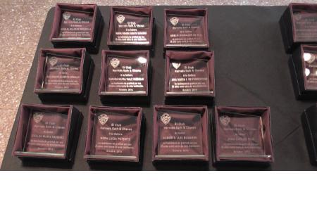 Trofeos 25 años de socio