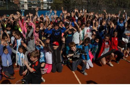 Las escuelas deportivas invitadas
