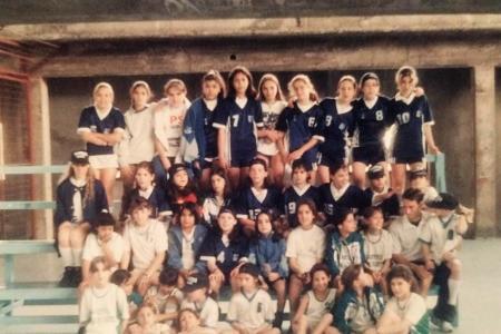 Año 1995 - Encuentro de Minibasket