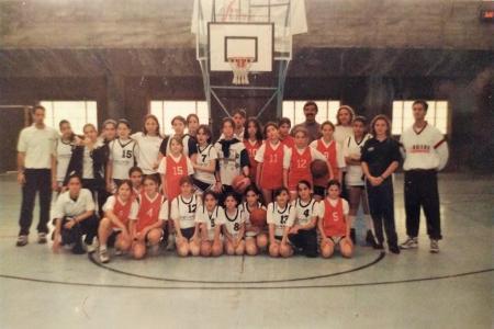 Año 1996 - Encuentro de minibasket