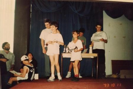 Año 1993 - Entrega de premios al mejor deportista