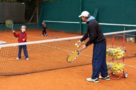 La Escuela de Tenis de menores
